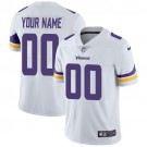Youth Minnesota Vikings Customized Limited White Vapor Untouchable Jersey
