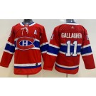Youth Montreal Canadiens #11 Brendan Gallagher Red Jersey