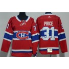 Youth Montreal Canadiens #31 Carey Price Red Jersey