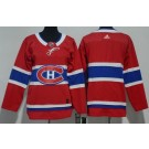 Youth Montreal Canadiens Blank Red Jersey