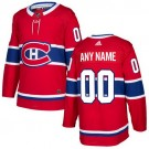 Youth Montreal Canadiens Customized Red Authentic Jersey