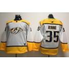 Youth Nashville Predators #35 Pekka Rinne White Jersey