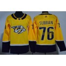 Youth Nashville Predators #76 PK Subban Yellow Jersey