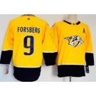 Youth Nashville Predators #9 Filip Forsberg Yellow Jersey
