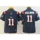 Youth New England Patriots #11 Julian Edelman Limited Navy 2020 Vapor Untouchable Jersey