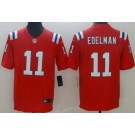Youth New England Patriots #11 Julian Edelman Limited Red Vapor Untouchable Jersey