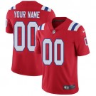 Youth New England Patriots Customized Limited Red Vapor Untouchable Jersey