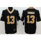 Youth New Orleans Saints #13 Michael Thomas Limited Black Vapor Untouchable Jersey