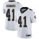 Youth New Orleans Saints #41 Alvin Kamara Limited White Vapor Untouchable Jersey