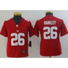 Youth New York Giants #26 Saquon Barkley Limited Red Vapor Untouchable Jersey