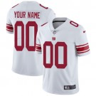 Youth New York Giants Customized Limited White Vapor Untouchable Jersey
