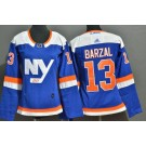 Youth New York Islanders #13 Mathew Barzal Blue Alternate Authentic Jersey