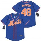 Youth New York Mets #48 Jacob deGrom Blue 2020 Cool Base Jersey