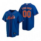 Youth New York Mets Customized Blue Alternate 2020 Cool Base Jersey