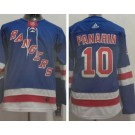 Youth New York Rangers #10 Artemi Panarin Blue Authentic Jersey