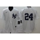 Youth New York Yankees #24 Gary Sanchez White 2020 Cool Base Jersey
