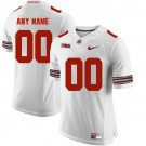 Youth Ohio State Buckeyes Customized White College Football Jersey