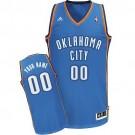 Youth Oklahoma City Thunder Customized Blue Swingman Adidas Jersey
