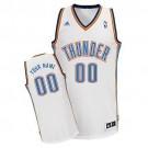 Youth Oklahoma City Thunder Customized White Swingman Adidas Jersey