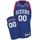 Youth Philadelphia 76ers Customized Blue Swingman Adidas Jersey