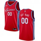 Youth Philadelphia 76ers Customized Red Icon Swingman Nike Jersey