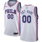 Youth Philadelphia 76ers Customized White Icon Swingman Nike Jersey