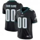Youth Philadelphia Eagles Customized Limited Black Vapor Untouchable Jersey