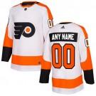 Youth Philadelphia Flyers Customized White Authentic Jersey