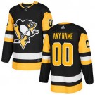 Youth Pittsburgh Penguins Customized Black Authentic Jersey