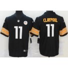 Youth Pittsburgh Steelers #11 Chase Claypool Limited Black Vapor Untouchable Jersey