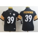 Youth Pittsburgh Steelers #39 Minkah Fitzpatrick Limited Black Vapor Untouchable Jersey