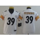 Youth Pittsburgh Steelers #39 Minkah Fitzpatrick Limited White Vapor Untouchable Jersey