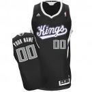 Youth Sacramento Kings Customized Black Swingman Adidas Jersey