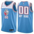 Youth Sacramento Kings Customized Light Blue City Icon Swingman Nike Jersey