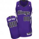 Youth Sacramento Kings Customized Purple Swingman Adidas Jersey