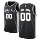 Youth San Antonio Spurs Customized Black Icon Swingman Nike Jersey