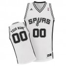 Youth San Antonio Spurs Customized White Swingman Adidas Jersey