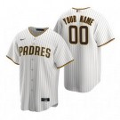 Youth San Diego Padres Customized White Stripes 2020 Cool Base Jersey