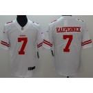 Youth San Francisco 49ers #7 Colin Kaepernick Limited White Vapor Untouchable Jersey