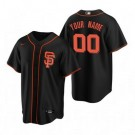 Youth San Francisco Giants Customized Black Alternate 2020 Cool Base Jersey