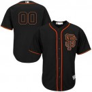 Youth San Francisco Giants Customized Black Cool Base Jersey