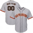 Youth San Francisco Giants Customized Gray Cool Base Jersey