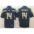 Youth Seattle Seahawks #14 DK Metcalf Limited Navy Vapor Untouchable Jersey
