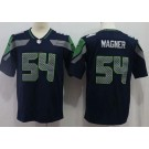 Youth Seattle Seahawks #54 Bobby Wagner Limited Navy Vapor Untouchable Jersey