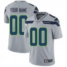 Youth Seattle Seahawks Customized Limited Gray Vapor Untouchable Jersey