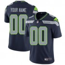 Youth Seattle Seahawks Customized Limited Steel Blue Vapor Untouchable Jersey