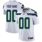 Youth Seattle Seahawks Customized Limited White Vapor Untouchable Jersey