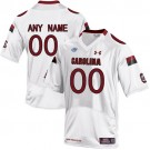 Youth South Carolina Gamecock Customized White College Football Jersey