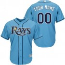 Youth Tampa Bay Rays CustomizedLight Blue Cool Base Jersey