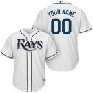 Youth Tampa Bay Rays CustomizedWhite Cool Base Jersey